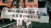 四川绵阳一日吃喝玩乐vlog 马家巷+798文创园