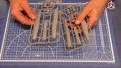 """【油管搬运】Modelsvit 72049 1/72 苏霍伊设计局 Т-10 """"侧卫""""原型机 拼装模型开盒"""