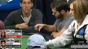 德州扑克:两高张与口袋对的经典跑马,结局却这么简单粗暴