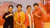 天津西青区体育指导员协会百人模特秀表演2