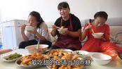 陕西特色小吃红薯角角,还是农村大姐会吃,1次做了3大盘,真下饭