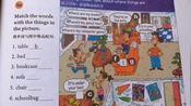 英语人教版七年级上册第四单元,单词+课文,带读和翻译 人人都是知识分享官