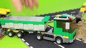 超能工程车玩具 第37集 组装及运输货车玩具