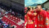百年好合! 赣州安远客家集体婚礼, 18对新人喜结连理