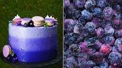 最美配色蛋糕,仿佛星空被装下,没想到制作教程如此简单?