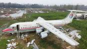 天空一声巨响,一架飞机降落在河南驻马店农村,到底咋回事?
