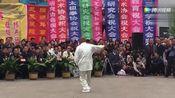 山西省霍州市任兵元师傅表演的通背拳白鸽亮翅!震撼