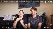 BLACKPINK - WHISTLE M_V REACTION cody gaypop