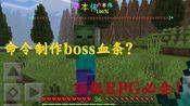 【命令方块】B站首发MCBE用命令制作boss血条显示,可自行调整boss最大血量与基础血量,自动比对百分比!顶级RPG服必会!