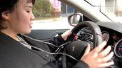 女司机你这样开车,请问是哪个师傅教你的,驾照怎么拿的