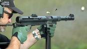 瑞典卡尔·古斯塔夫M45冲锋枪,靶场实弹射击测试