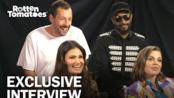 Adam Sandler and Cast Talk Getting Wild with the Safdie Bros. in 'Uncut Gems'