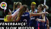 【罗宾逊vlog】CHAMPIONS LEAGUE IN SLOW MOTION | Fenerbahce vs. odz