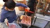 街头最极速的快餐,12块一个,大姐一天卖200多个!