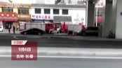 【吉林】长春市浦东路仙台大街附近一饭店起火 众多市民驻足围观