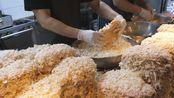韩国传统市场美食‖老式炸猪排