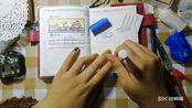 柒柒的手账日常No.19【神仙用物蕾丝纸拯救便签拼贴翻车】和我一起来写手账吧