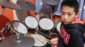 【巅峰教育】架子鼓《逆战》王瑞郴 山西阳泉乐器培训