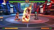 「 拳皇98」 八门火舞必杀秒瞬影 极度舒适