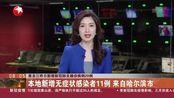 黑龙江昨日新增确诊病例20例,其中境外输入16例,均为俄罗斯输入