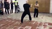 踢馆成功!加拿大咏春男子打晕日本空手道高手,真是惊人啊!