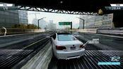 【Ray】极品飞车17 downtown 全程漂移/nfs17 BMW m3 downtown drift no stop