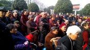 铜梁区明月广场:老百性的文化生活。
