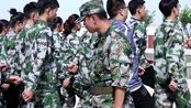 章丘中等职业学校18级商贸系军训视频