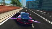 红色跑车街道赛车比赛,游戏