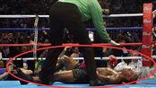 泰森最落魄的样子,对刘易斯重拳KO,倒在地上的模样让人心酸!