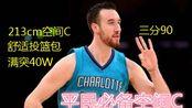【NBA2KOL2】平民必备 213cm大个空间C 稳定3分 超快舒适投篮包!