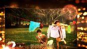 1094唯美金色粒子LED舞台屏幕婚礼婚庆开场视频片头ae模板ae特效 视频片头 会声会影 edius pr ae片头 宣传片 视频素材 视频制作