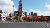 骑车去海南:来到了江苏省盐城市,看看盐城的街景
