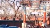 #钢铁直男看过来#2020年1月2日,北京的雍和宫熬了一百多桶腊八粥