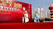 安徽省合肥市 徽园民俗文化节 长丰庐剧团薛忠萍老师唯美 精彩的庐剧 梁山伯与祝