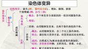 【生物网课】江苏省姜堰中学2020生物网课—必修2第五章第二节《染色体变异》