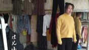 农村媳妇去买衣服,这么漂亮的春装多少钱一套?真是太便宜了