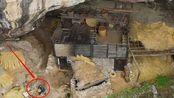 贵州一60多岁老人隐居山洞几十年,房子都快坏了,与世无争