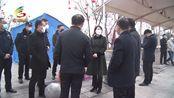 2.1林梅深入一线慰问疫情防控工作人员