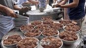 河南农村300元一桌的回族结婚宴席 碗碗都是肉 大酒店里买不到