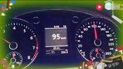 1.8T迈腾后段加速, 230km-h, 可怕