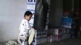 6岁 康辉拳脚训练 (开始注意打法和节奏 以及攻击部位)