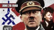 每周二战史实系列-1940年6月29日-第44周-希特勒到巴黎 德国的胜利 中文字幕