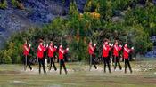 四川达州钢花丽人健身队表演: 莎啦啦快乐舞步健身操第八套第9节