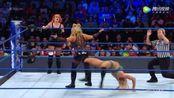 WWE美式摔跤娱乐 SD 7.11 拉娜出现扰乱比赛节奏 夏洛特遭塔蜜娜压制