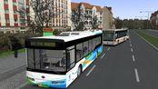 【爱开车的逗比】 巴士模拟2 金河市2.6 #2 一路飙车早点3分 驾驶宇通混动行走于金河市G61路