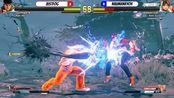 【街霸5】Justfog (Ryu) VS Naumanryoh (Sakura)