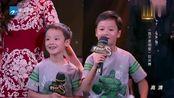 我不是明星总决赛:马景涛携一家前来助阵妻子,爆笑学马叫!