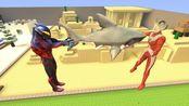 贝利亚用深海巨鲨用来对付泰罗