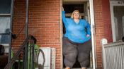 女子490斤臀围达2.41米, 欲打破世界最大臀围记录,增肥后健康堪忧
